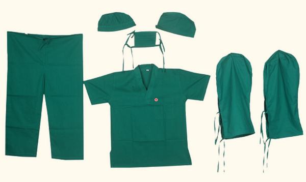 Vải may đồng phục phẫu thuật