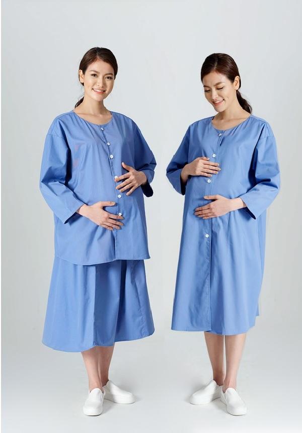 Quần áo đồng phục sản phụ và váy liền đồng phục y tế sản phụ